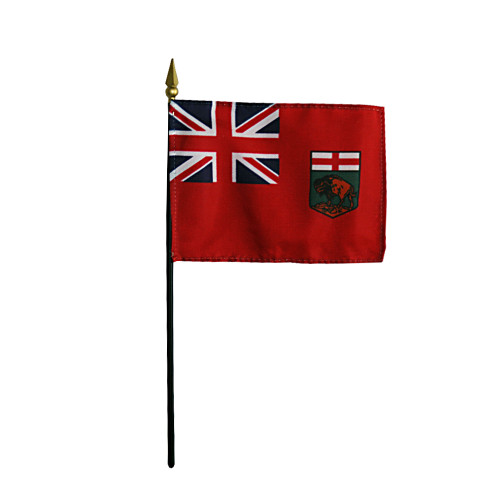"MANITOBA 4X6"" TABLE TOP FLAG"