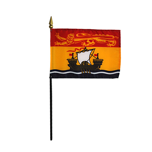 "NEW BRUNSWICK 4X6"" TABLE TOP FLAG"