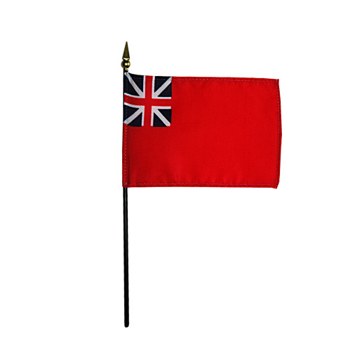 "BRITISH RED ENSIGN 4X6"" TABLE TOP FLAG"