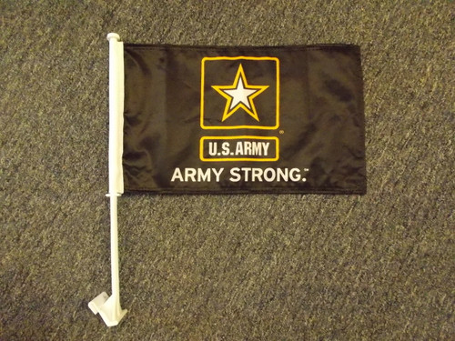 US Army Strong Car Flag