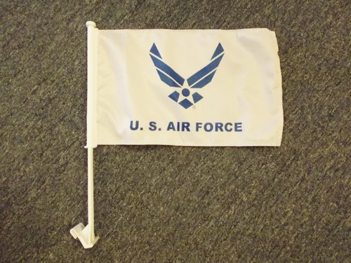 US Air Force Wings Car Flag