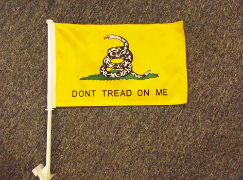 Gadsden- Don't Tread On Me Car Flag