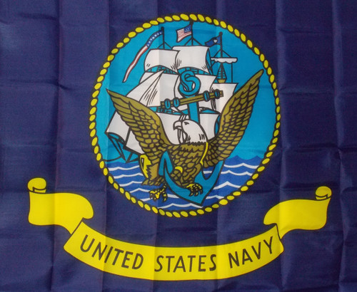 US NAVY 3X5' S-POLY FLAG