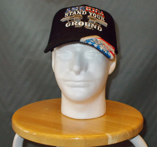 AMERICA STAND IT'S YOUR RIGHT BALL CAP