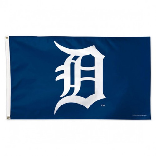 "DETROIT TIGERS ""D"" DELUXE 3X5' FLAG"