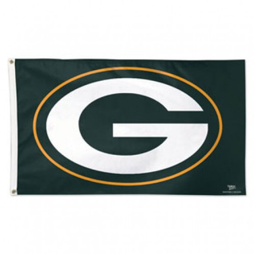 GREEN BAY PACKERS DELUXE 3X5' FLAG