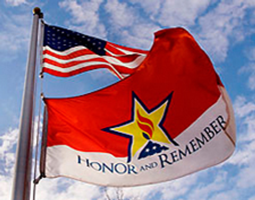 HONOR AND REMEMBER FLAGS 2X3' TO 4X6'