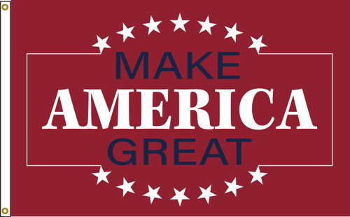 MAKE AMERICA GREAT 3X5' NYLON FLAG