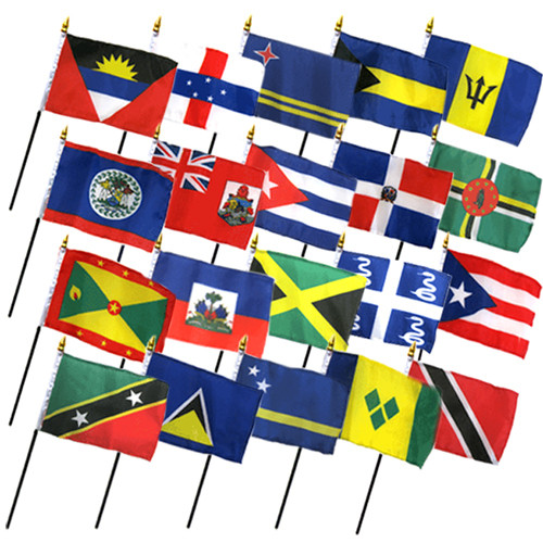 Table Top Flag Sets | Small International Flags