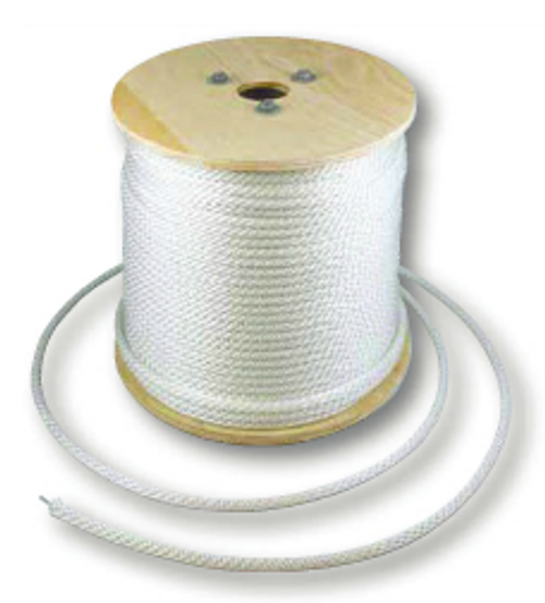 """POLYESTER WIRE CENTER CORD  5/16"""" ROPE 1000 FOOT SPOOL"""