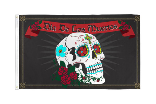 DAY OF THE DEAD 3X5' S-POLY FLAG