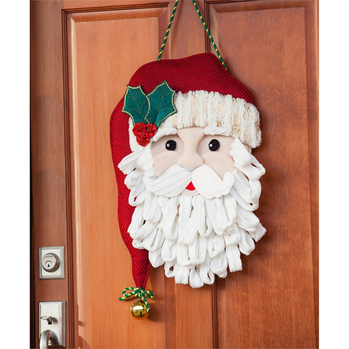 SANTA FELT DOOR DECOR