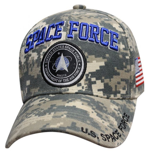 SPACE FORCE DIGITAL CAMO BALL CAP