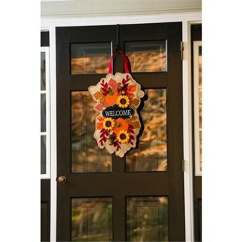 WELCOME FALL DOOR DECOR
