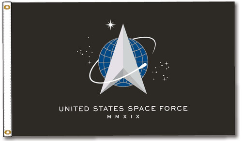 Space Force 3x5' flag
