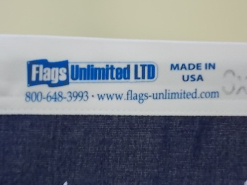 """USA 2-PLY POLYESTER FLAG """"HIGH WIND"""" 3x5' to 30x60'"""