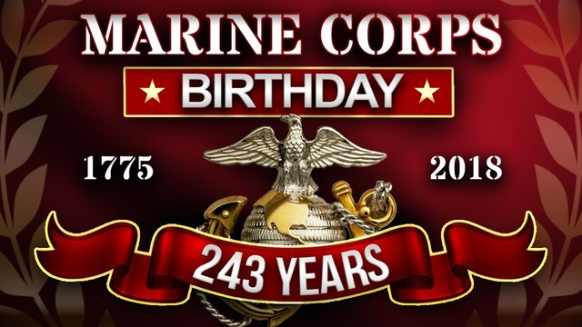 The Marine Corps Birthday and Flag