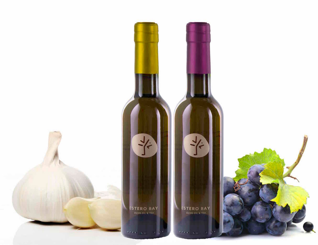 Garlic Olive Oil and Traditional Balsamic