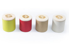 BAMBOO Short Tea Canisters