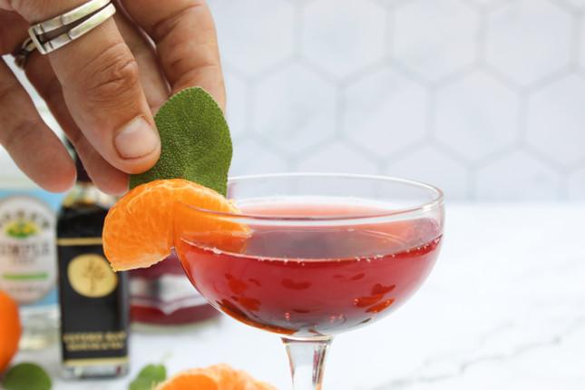 Cranberry Tangerine Dream Kombucha Punch Recipe