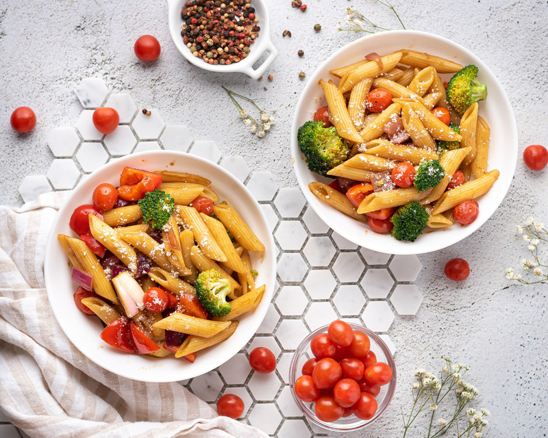 Penne Pasta with Balsamic Glaze