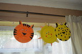 Paper Plate Animal's Cheetah and Tiger!