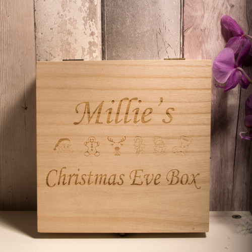 Personalised Christmas Eve Box Style 1