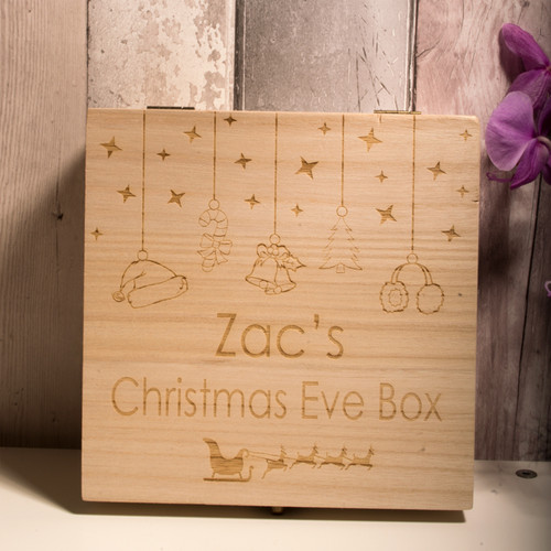 Personalised Christmas Eve Box Style 2