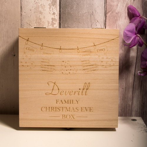 Personalised Christmas Eve Box Style 3