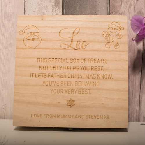 Personalised Christmas Eve Box Style 4