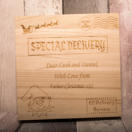 Personalised Elf Delivery Box