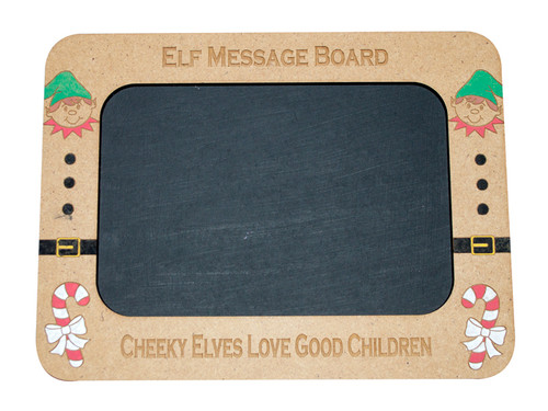 Wooden Elf Message Board