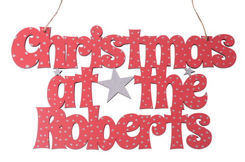 Christmas at the .... Sign in Spicy Rice Style Text