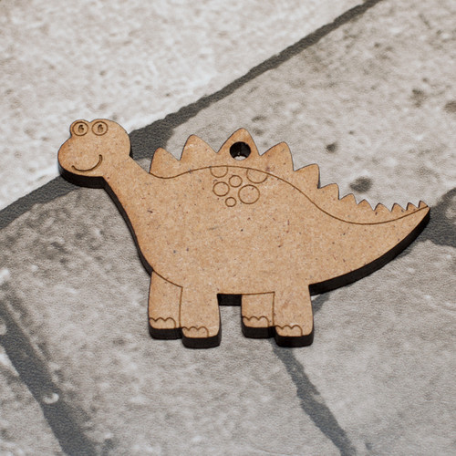 Dinosaur 3 Craft Keyring