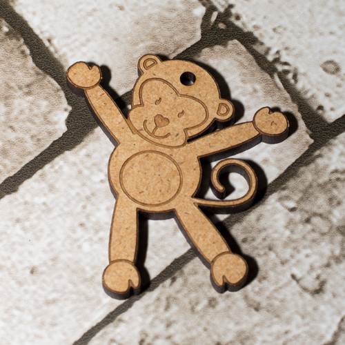 Monkey Craft Keyring
