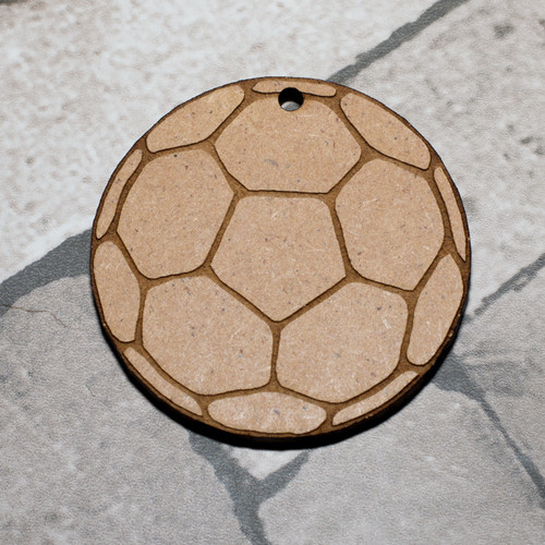 Football Craft Keyring