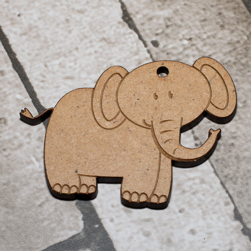 Elephant Craft Keyring