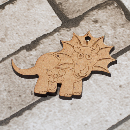 Dinosaur 2 Craft Keyring