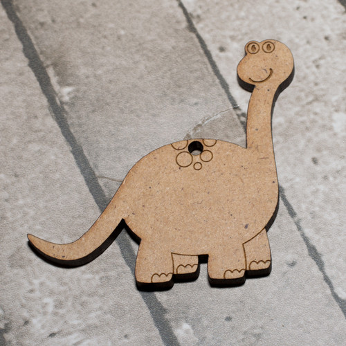 Dinosaur 1 Craft Keyring