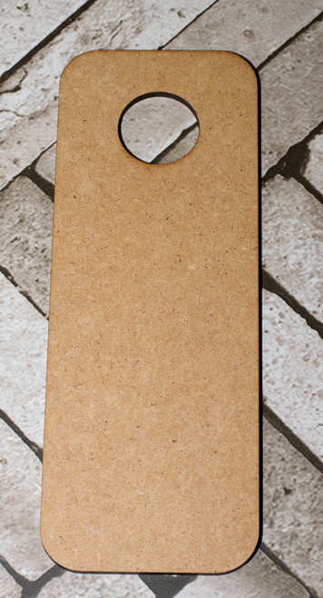 Blank Wooden Door Hanger ideal for crafts