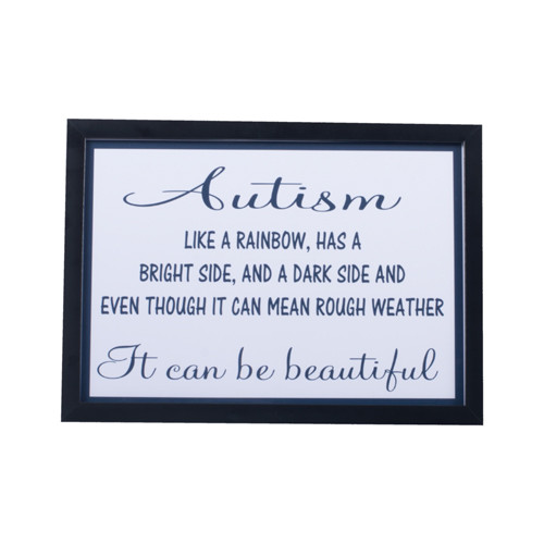 Autism Like a Rainbow Print