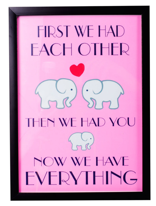 First we had each other print Pink design