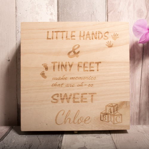 Personalised Keepsake Box - Style 1