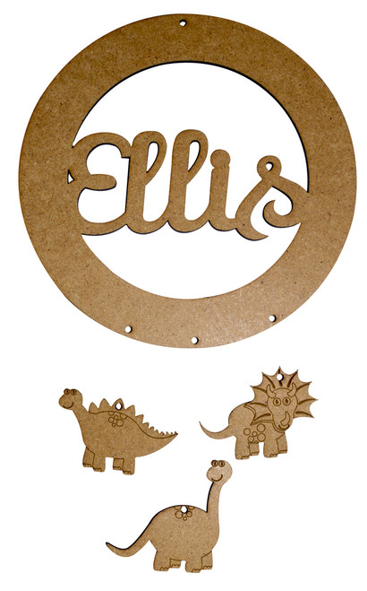 Personalised Dinosaur Dream Catcher Ellis