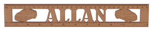 Wooden Car Ruler