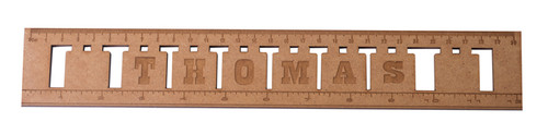 Wooden Blocks Ruler