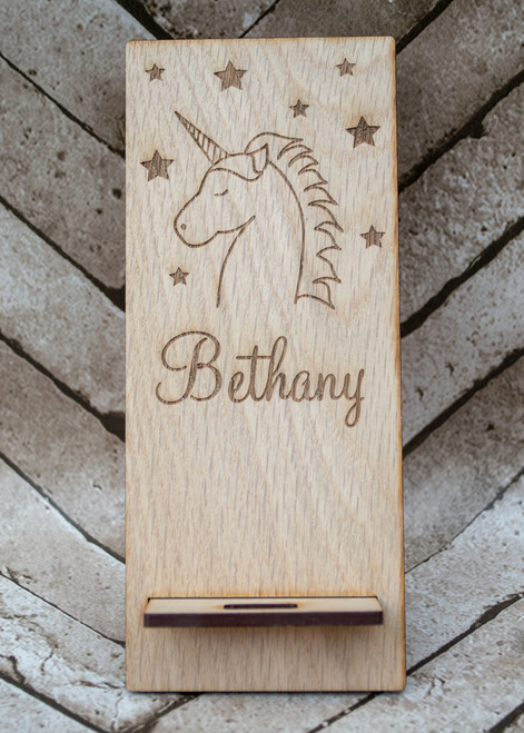 Unicorn design phone stand