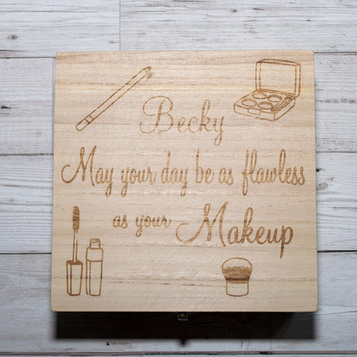 personalised make up box