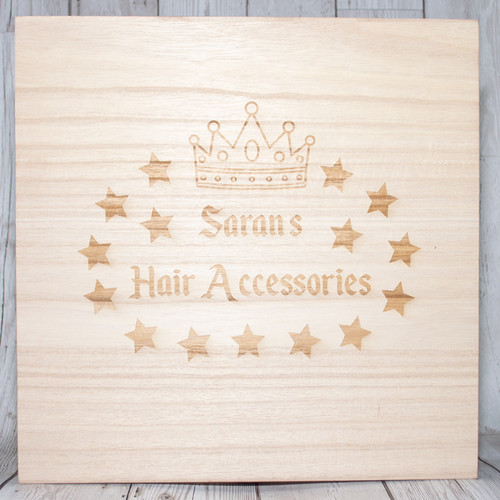 Personalised Hair Accessory Box