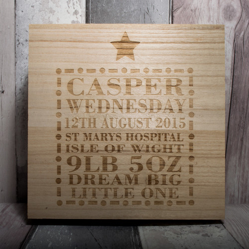 Personalised Keepsake Box - Dream Big
